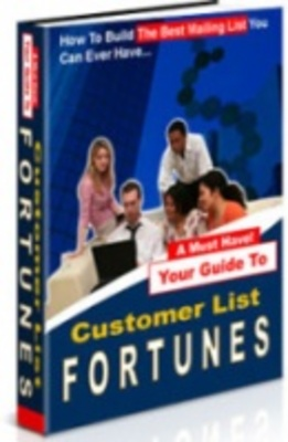Product picture Customer List Fortunes   Make money online