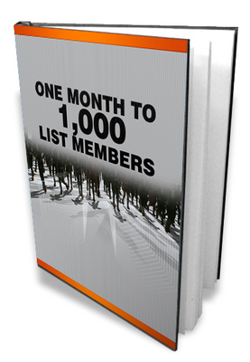 Product picture 1000 List Members   Make money online